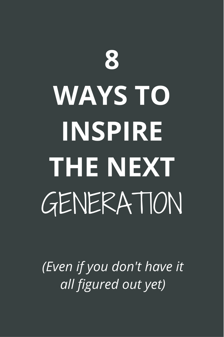 As a young professional, you need to be giving back to the next generation. They want to hear from you (even if you don't have it all figured out yet). Our future depends on us sharing our experiences with them so kids can become better leaders, people and visionaries.