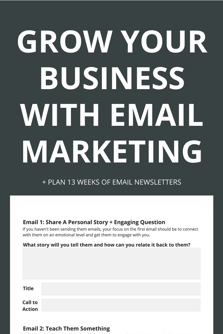 Email marketing has the highest ROI of almost any form of marketing. Learn how to tap into that by leveraging powerful email marketing and figure out what to say in your email newsletters with the free workbook. Click through to learn more.