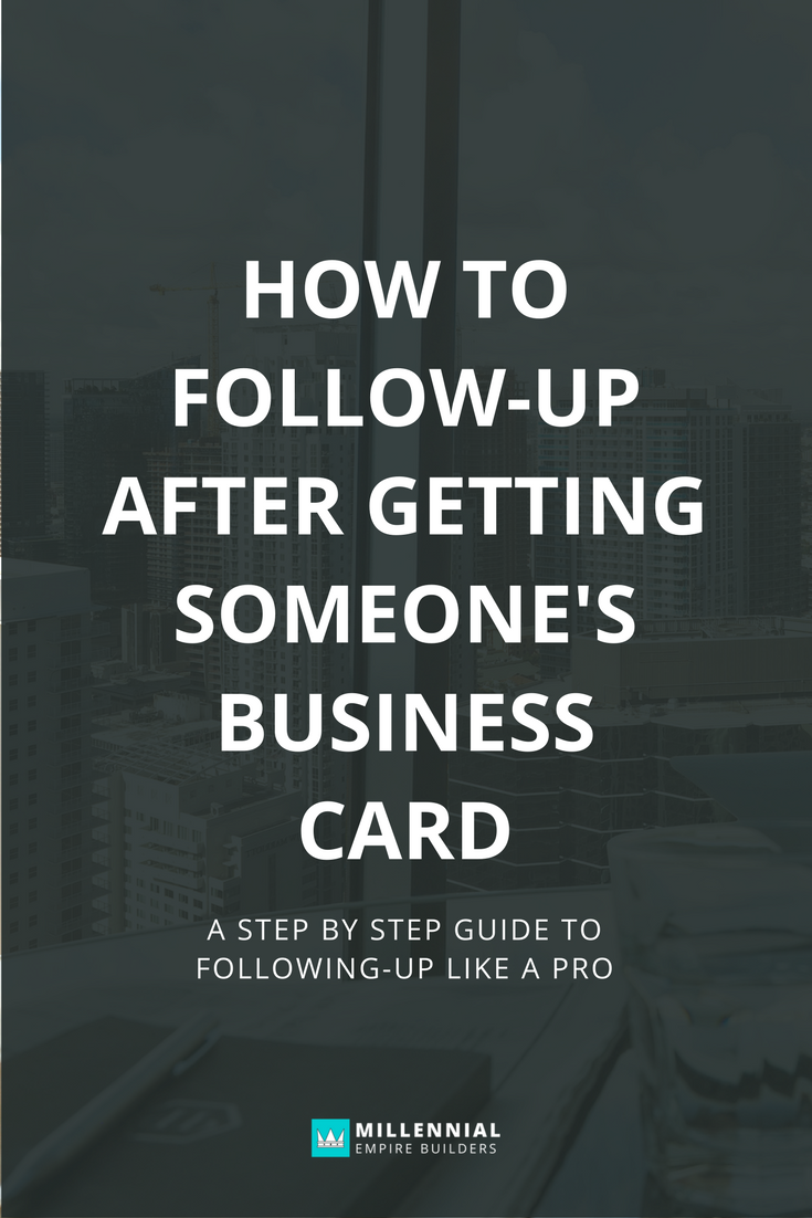 Following up doesn't have to be hard or scary. With a simple system and lots of contribution, your follow up emails, calls and texts will be anticipated.