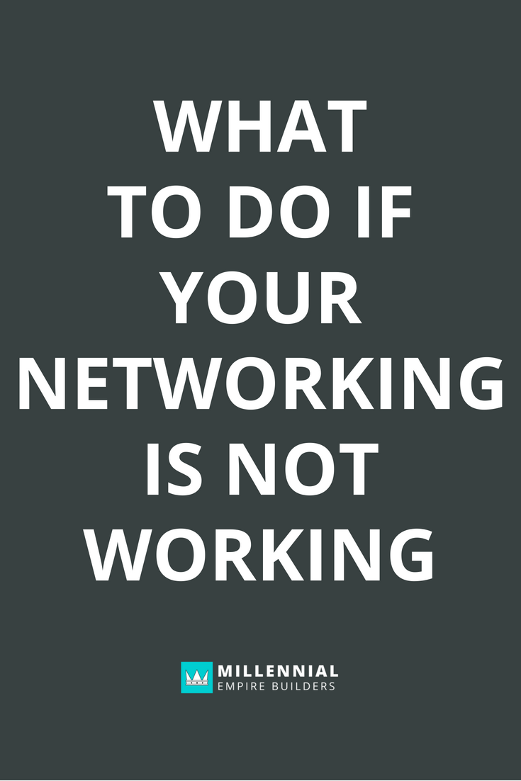 Networking works if you do it right. Here are the six most common mistakes that most people make when they're building their network. Click through to learn more.