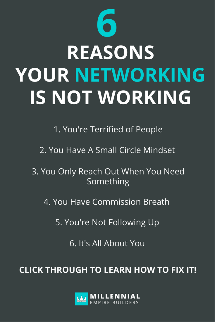 Networking isn't supposed to be hard. At it's core, it's simply building relationships that lead to opportunities. Here are the six most common mistakes people make and how to fix them. Click through to learn more.