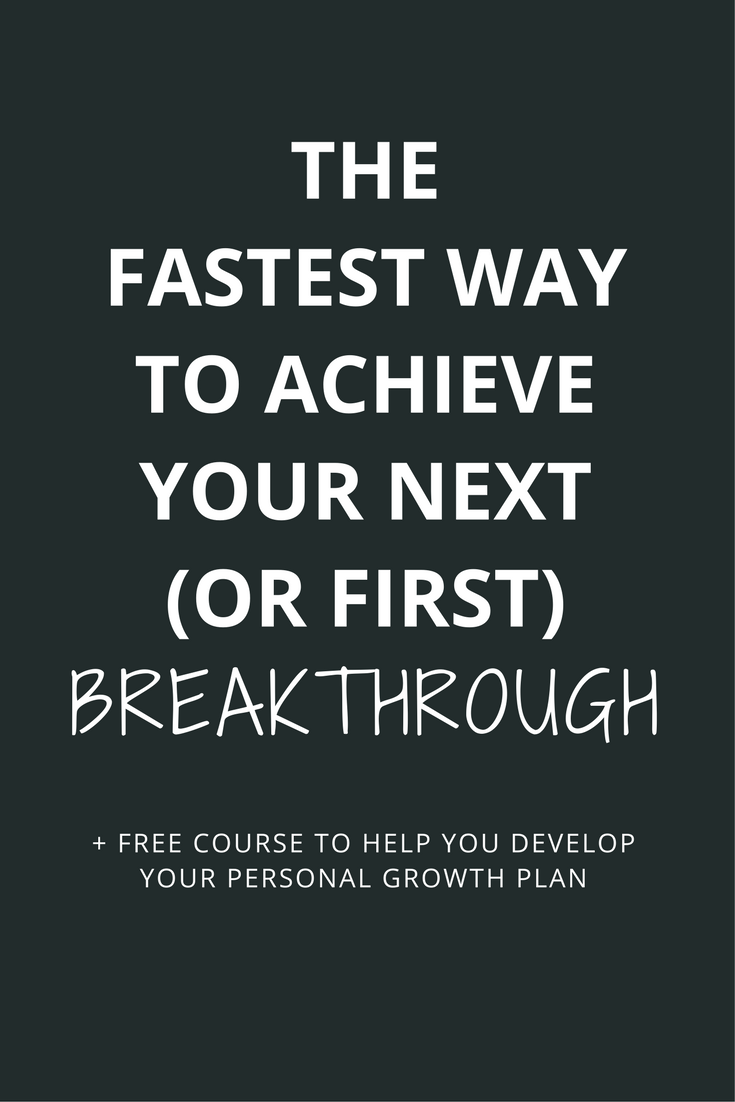 How many times have you set CRAZY goals, only to fall short of them and then you're left feeling frustrated and unfulfilled? The key is to find a cheat code to skip through trial and error and to find a system to get you from A to X faster so that your journey to Z is infinitely easier. Click through to learn how to find your cheat code and to take the free course to develop your personal growth plan.