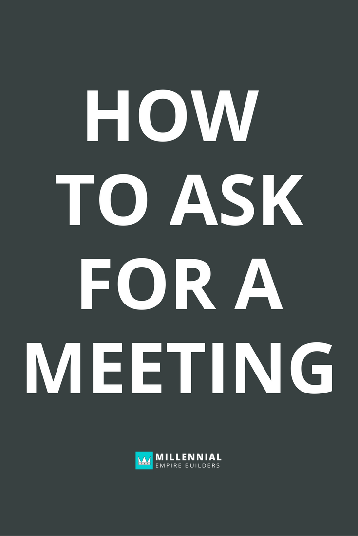 Asking for a networking meeting doesn't have to be complicated. In this post, you'll learn exactly how to ask for a meeting without feeling salesy or pitchy and what to say in your emails.