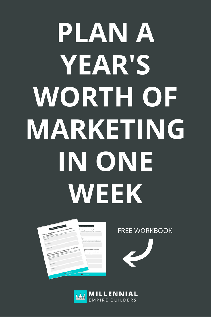 In order to get more business from your network, you'll need to stay top of mind and establish your expertise. In this post, you'll learn how to plan a year's worth of marketing for your network in one week so you can focus on what's really important.