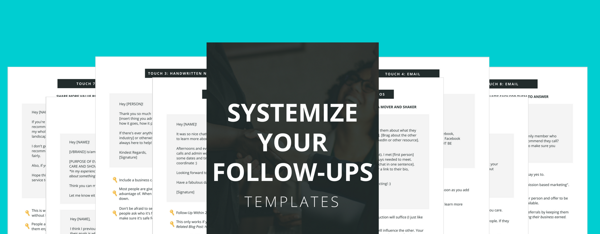 7 Must Have Networking Email Follow-Up Templates
