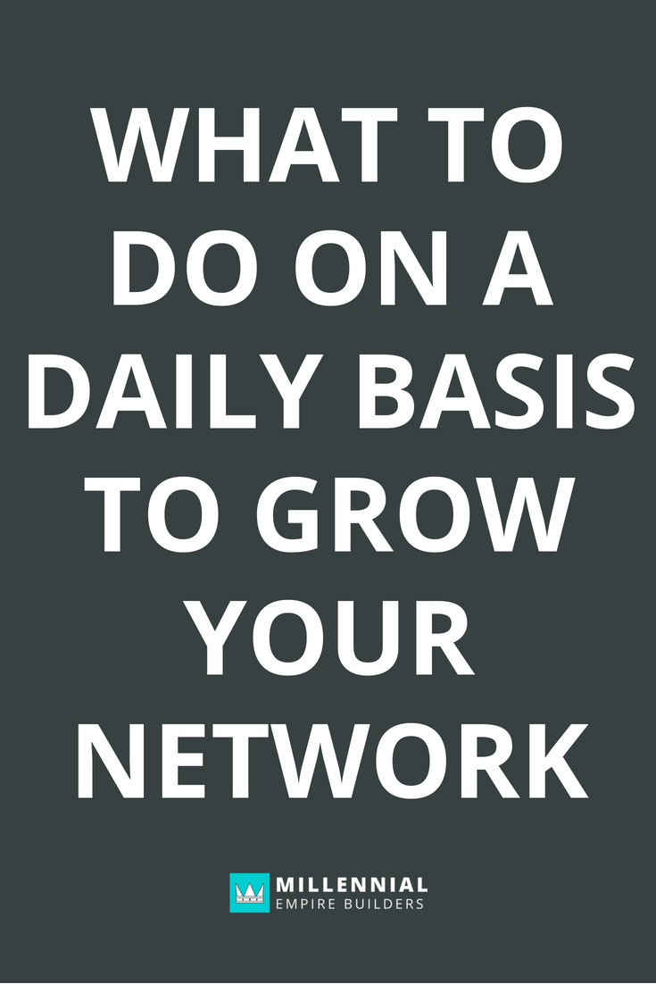 Growing your network requires consistency and focused action on a daily, consistent basis. Here's a step by step walkthrough of every single thing I do to make sure my network is constantly growing. Click through to learn more!