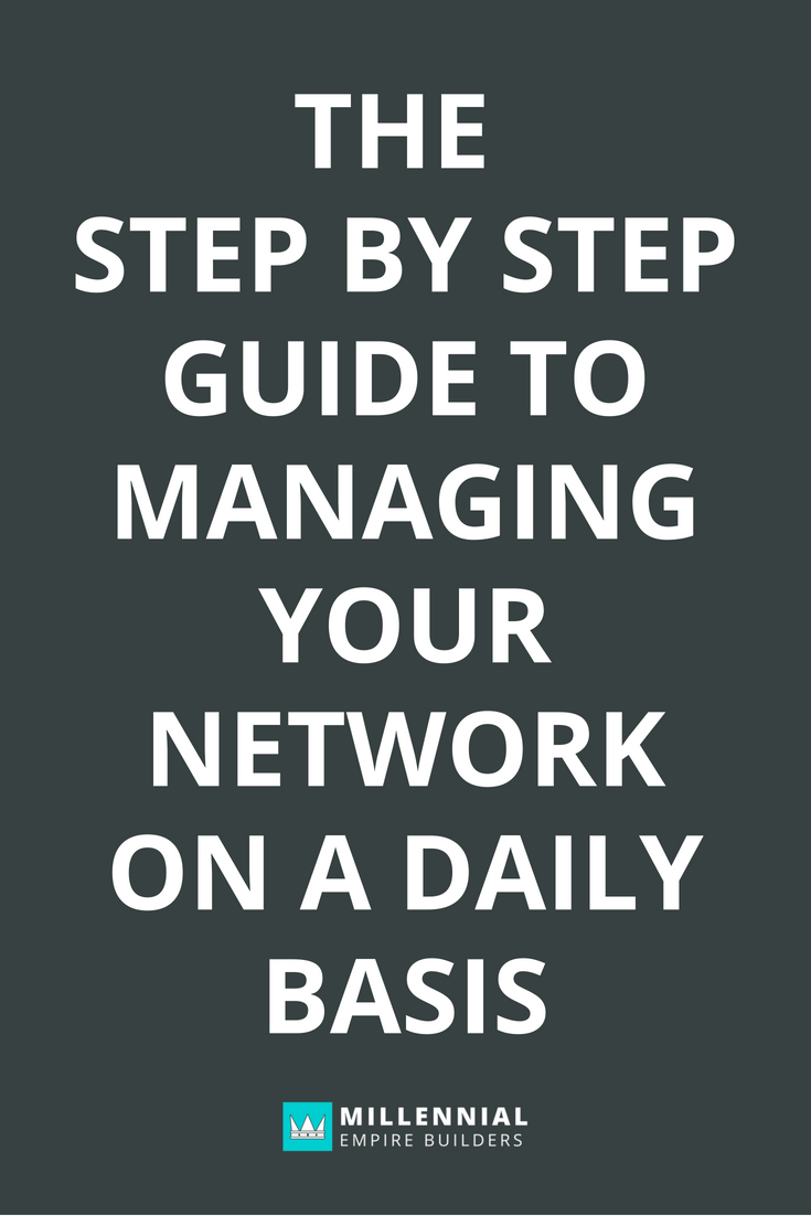 Building your network is all about consistency. It doesn't have to be complicated, overwhelming or hard, it just takes itty bitty steps every single day to build a thriving network. Click through to learn how to manage your network in less than an hour a day.