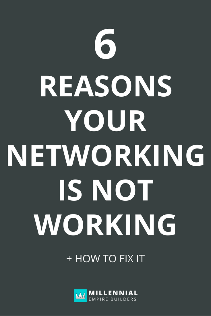 Networking does work but you have to approach it the right way. Here are the six most common mistakes that most people make when it comes to networking and how to fix each of them. Click through to learn more.